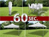 Pop up gazebo FleXtents Xtreme 3x3 m White, incl. 4 sidewalls - 4