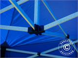 Pop up gazebo FleXtents Basic, 2x2 m Blue, incl. 4 sidewalls - 4