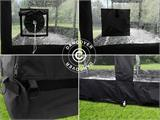 Folding garage FleX Carcover, 3x6 m, Black - 2