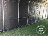 Portable Garage PRO 3.77x9.7x3.18 m PVC, Grey - 14