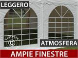 Tendone per feste Exclusive 6x12m PVC, Bianco - 5