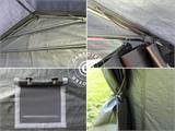 Portable Garage PRO 3.3x6x2.4 m PE, Grey - 5