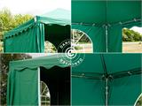 Marquee UNICO 3x3 m, Dark Green - 7