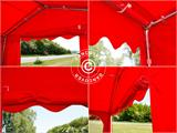Marquee UNICO 5x10 m, Red - 7