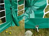 Marquee UNICO 5x10 m, Dark Green - 11