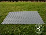 Party flooring and ground protection mat, 0.96 m², 80x120x1 cm, Grey, 1 pc. - 1