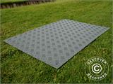 Party flooring and ground protection mat, 0.96 m², 80x120x1 cm, Grey, 1 pc. - 2