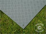 Party flooring and ground protection mat, 0.96 m², 80x120x1 cm, Grey, 1 pc. - 4