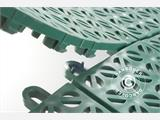 Plastic flooring Basic, Multiplate, Green, 1.23  m²  (4 pcs.) - 2