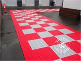 Flooring, Heavy duty, red 40 m² - 2
