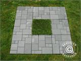 Decking tiles Click-Floor, Artificial Turf, 30x30 cm, 9 pcs/box - 5