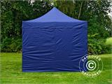 Carpa plegable FleXtents Xtreme 50 3x3m Azul oscuro, Incl. 4 lados - 5