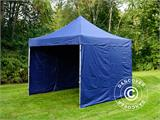 Carpa plegable FleXtents Xtreme 50 3x3m Azul oscuro, Incl. 4 lados - 6