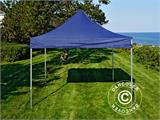Carpa plegable FleXtents Xtreme 50 3x3m Azul oscuro, Incl. 4 lados - 9