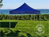 Carpa plegable FleXtents Xtreme 50 3x3m Azul oscuro, Incl. 4 lados - 10
