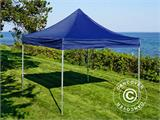 Carpa plegable FleXtents Xtreme 50 3x3m Azul oscuro, Incl. 4 lados - 11