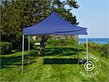 Carpa plegable FleXtents Xtreme 50 3x3m Azul oscuro, Incl. 4 lados - 12
