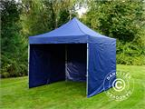Carpa plegable FleXtents Xtreme 50 3x3m Azul oscuro, Incl. 4 lados - 13