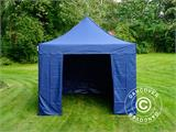 Carpa plegable FleXtents Xtreme 50 3x3m Azul oscuro, Incl. 4 lados - 14