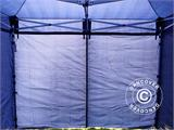 Carpa plegable FleXtents Xtreme 50 3x3m Azul oscuro, Incl. 4 lados - 15