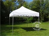 "Vouwtent/Easy up tent FleXtents PRO ""Wave"" 3x3m Wit, inkl. 4 Zijwanden - 2"