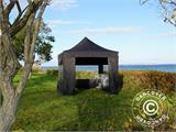 Pop up gazebo FleXtents PRO 3x3 m Black, incl. 4 sidewalls - 6