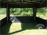 Pop up gazebo FleXtents PRO 3x3 m Black, incl. 4 sidewalls - 31