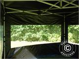 Pop up gazebo FleXtents PRO 3x3 m Black, incl. 4 sidewalls - 32