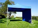 Tenda Dobrável FleXtents PRO 3x3m Azul, incl. 4 paredes laterais - 8