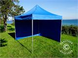 Tenda Dobrável FleXtents PRO 3x3m Azul, incl. 4 paredes laterais - 10