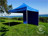 Tenda Dobrável FleXtents PRO 3x3m Azul, incl. 4 paredes laterais - 12