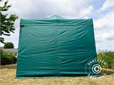 Pop up gazebo FleXtents Xtreme 50 3x3 m Green, incl. 4 sidewalls - 4