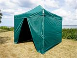 Pop up gazebo FleXtents Xtreme 50 3x3 m Green, incl. 4 sidewalls - 5