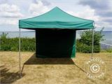 Pop up gazebo FleXtents Xtreme 50 3x3 m Green, incl. 4 sidewalls - 13