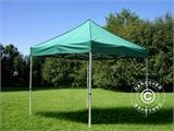 Pop up gazebo FleXtents Xtreme 50 3x3 m Green, incl. 4 sidewalls - 15