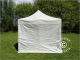 Pop up gazebo FleXtents PRO 3x3 m Silver, incl. 4 sidewalls - 1