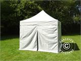 Pop up gazebo FleXtents PRO 3x3 m Silver, incl. 4 sidewalls - 2