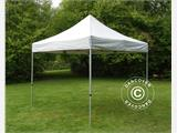 Pop up gazebo FleXtents PRO 3x3 m Silver, incl. 4 sidewalls - 4