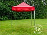 Vouwtent/Easy up tent FleXtents PRO 2x2m Rood - 1