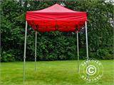Vouwtent/Easy up tent FleXtents PRO 2x2m Rood - 2