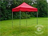Vouwtent/Easy up tent FleXtents PRO 2x2m Rood - 3