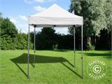 Pop up gazebo FleXtents PRO 2x2 m White, incl. 4 sidewalls - 4