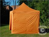 Vouwtent/Easy up tent FleXtents PRO 3x3m Oranje, inkl. 4 Zijwanden - 9