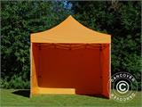 Vouwtent/Easy up tent FleXtents PRO 3x3m Oranje, inkl. 4 Zijwanden - 15