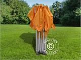 Vouwtent/Easy up tent FleXtents PRO 3x3m Oranje, inkl. 4 Zijwanden - 20