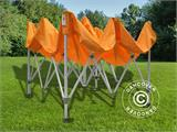 Vouwtent/Easy up tent FleXtents PRO 3x3m Oranje, inkl. 4 Zijwanden - 21