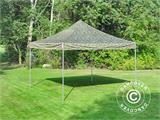 Vouwtent/Easy up tent FleXtents PRO 4x4m Camouflage/Militair - 2