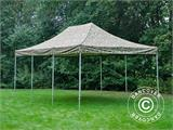 Vouwtent/Easy up tent FleXtents PRO 4x6m Camouflage/Militair - 1