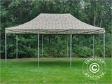 Vouwtent/Easy up tent FleXtents PRO 4x6m Camouflage/Militair - 3
