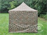 Pop up gazebo FleXtents PRO 3x3 m Camouflage/Military, incl. 4 sidewalls - 15